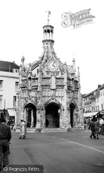 Chichester, The Market Cross c.1955