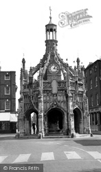 Chichester, The Market Cross c.1960