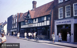 Chichester, The Old Cross c.1985
