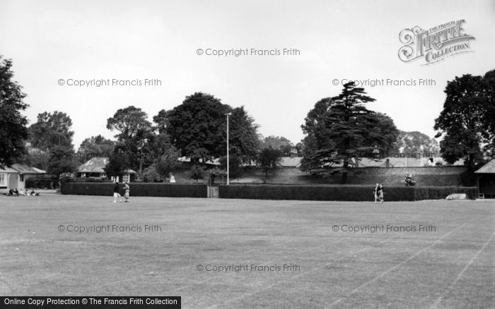 Photo of Chichester, The Priory Park c.1960