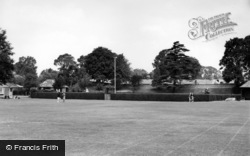 Chichester, The Priory Park c.1960