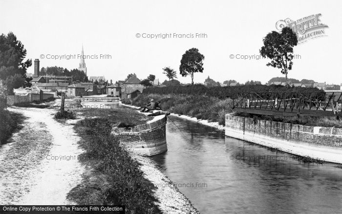 Photo of Chichester, The View From The Canal 1898