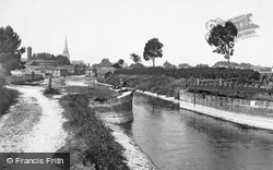 Chichester, The View From The Canal 1898