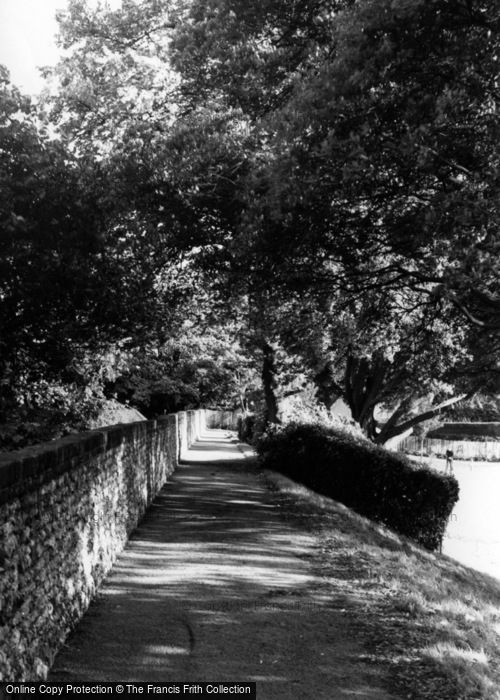 Photo of Chichester, The Walls c.1965