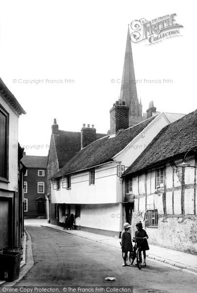 Photo of Chichester, West Pallant 1923