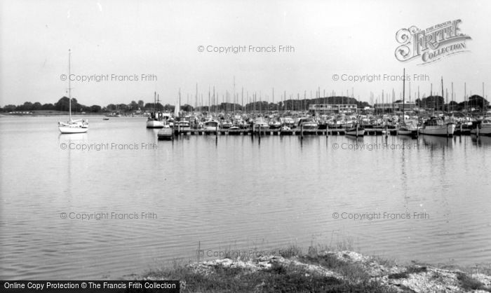 Photo of Chichester, Yacht Basin c.1965