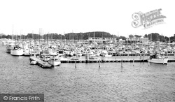 Chichester, Yacht Basin From The Watch Tower c.1965