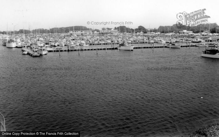 Photo of Chichester, Yacht Basin From The Watch Tower c.1965