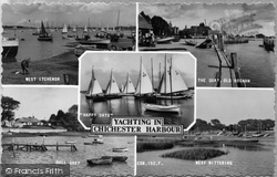 Chichester, Yachting In Chichester Harbour c.1965