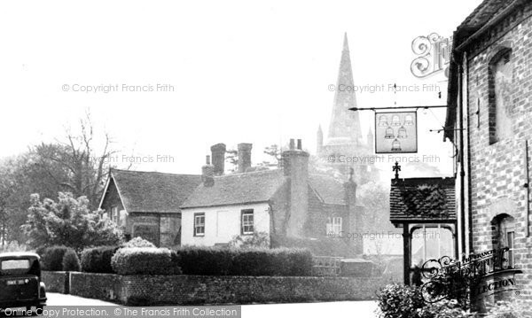 Chiddingly, the Post Office Corner c1955