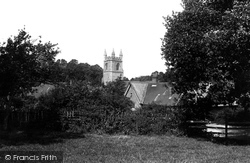 St Mary's Church And School 1891, Chiddingstone