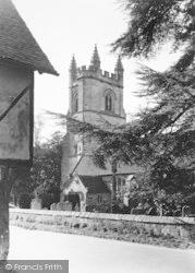 St Mary's Church c.1955, Chiddingstone