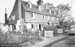 The Almshouses, Somerden Green c.1960, Chiddingstone