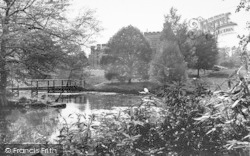 The Lake c.1955, Chiddingstone