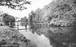 The Lake c.1960, Chiddingstone