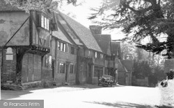 The Old Houses c.1955, Chiddingstone