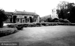 The Manor And Church c.1965, Chieveley