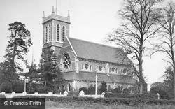 All Saints Church c.1955, Chigwell Row