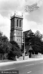 All Saints Church c.1965, Chigwell Row