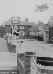 Filling Station On Main Road c.1965, Chigwell Row
