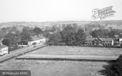 General View From Church Tower c.1955, Chigwell Row