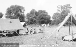Girl Guides Assoc Camping Ground c.1955, Chigwell Row