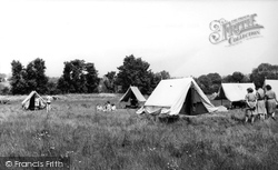 Girl Guides Camping Field c.1965, Chigwell Row
