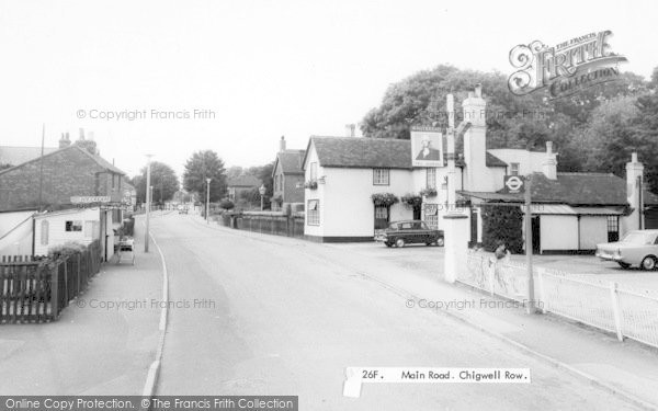 Photo of Chigwell Row, c.1965