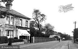 Manor Road c.1955, Chigwell Row