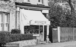 Manor Road, Local Shop c.1955, Chigwell Row
