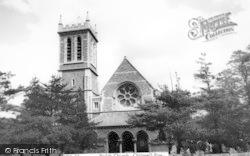Parish Church c.1965, Chigwell Row