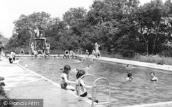 Swimming Pool, Girl Guides Camp c.1965, Chigwell Row