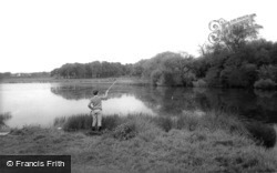 The Lake, Hainault Forest c.1965, Chigwell Row
