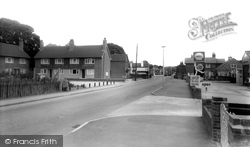 The Main Road And Marden Close c.1965, Chigwell Row