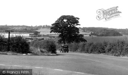 View Of Hainault Forest c.1955, Chigwell Row