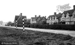 Village School And Common c.1955, Chigwell Row
