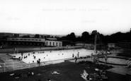 Chigwell, the Swimming Pool Grange Farm Centre c1965