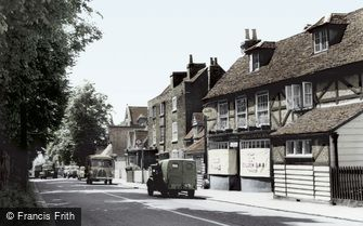 Chigwell, the Village c1960