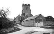 Child Okeford, the Church of St Nicholas c1900