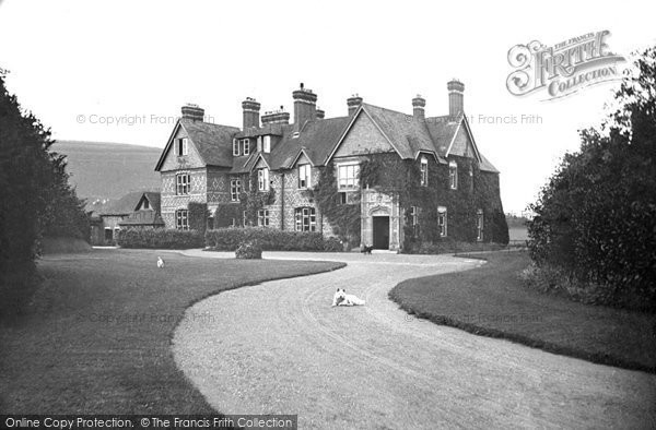 Child Okeford The Manor C 1900 Francis Frith