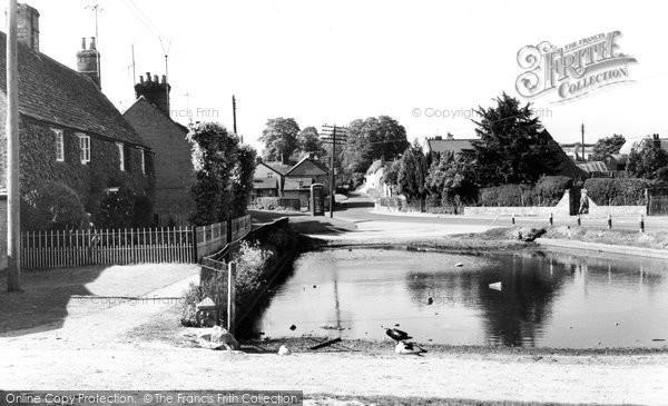 Childrey, the Pond c1960