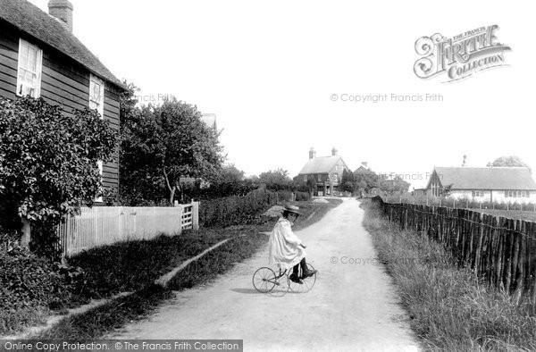 Photo of Chilham, Old Wives' Lees 1908