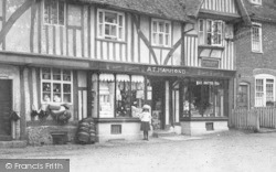Chilham, Post Office 1903