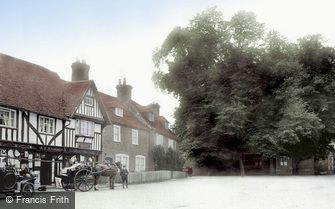 Chilham, Post Office 1913