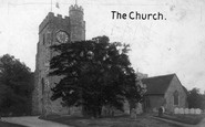Chilham, St Mary's Church 1903