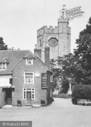 Chilham, St Mary's Church 1925