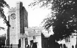 Chilham, St Mary's Church c.1955
