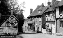 Chilham, Taylors Hill c.1955
