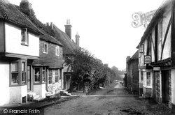 Chilham, The High Street 1903