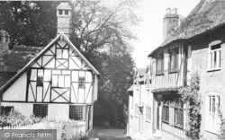 Chilham, The Old Houses c.1955